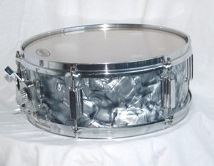 Vintage Phillipine Mahogany Pearl Snare Drum